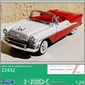 1955 - Oldsmobile Super 88 Convertible - Welly - 1/24