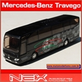 Onibus Mercedes-Benz Travego Preto - Welly - 1/60
