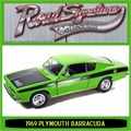 1969 - PLYMOUTH BARRACUDA 440 - Yatming - 1/18