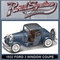 1932 - FORD 3-WINDOW COUPE AZUL - Yatming - 1/18