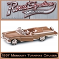 1957 - MERCURY TURNPIKE CRUISER - Yatming - 1/18