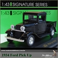 1934 - FORD PICK-UP Preta - Yatming - 1/43