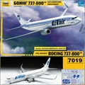 Boeing 737-800 UTair Civil Airliner - Zvezda - 1/144