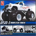 USA-1 MONSTER TRUCK - AMT - 1/25