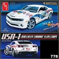 USA-1 2010 CHEVY CAMARO SS/RS COUPE - AMT - 1/25
