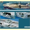 USS ENTERPRISE Nuclear Carrier - Revell - 1/720