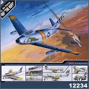 F- 86F THE HUFF US AIR FORCE - Academy - 1/48