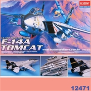 F-14A TOMCAT U.S. Navy Swing-Wing Fighter - Academy - 1/72