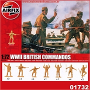 WWII BRITISH COMMANDOS - Airfix - 1/72