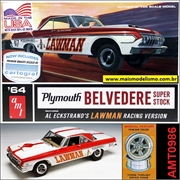 1964 - Plymouth BELVEDERE Super Stock - AMT - 1/25