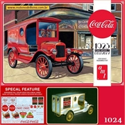 1923 - Ford T Delivery Van Coca-Cola - AMT - 1/25