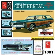 1965 - Lincoln Continental - AMT - 1/25