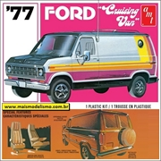 1977 - Ford Cruising Van - AMT - 1/25