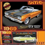 1969 - Plymouth GTX Convertible - AMT - 1/25