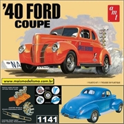 1940 - FORD Coupe - AMT - 1/25