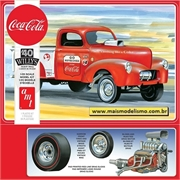 1940 - Willys Pickup Truck Coca-Cola - AMT - 1/25