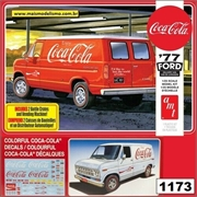 1977 - Ford Delivery Van Coca-Cola - AMT - 1/25