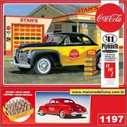 1941 - Plymouth Coupe Coca-Cola - AMT - 1/25