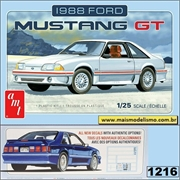 1988 - Ford Mustang GT - AMT - 1/25