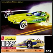 Dragster PLYMOUTH HEMI CUDA - AMT - 1/25