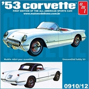 1953 - Chevy CORVETTE - AMT - 1/25