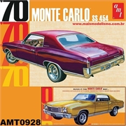 1970 - Chevy MONTE CARLO SS 454 - AMT - 1/25