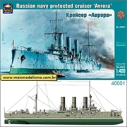 Russian Navy Protected Cruiser AURORA - Ark Models - 1/400