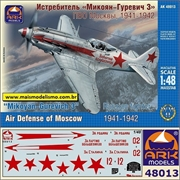 MiG- 3 Russian Fighter Air Defence of Moscow - Ark Models - 1/48