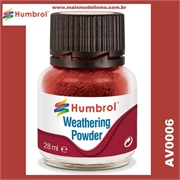 Humbrol IRON OXIDE Weathering Powder - 28ml