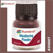 Humbrol DARK EARTH Weathering Powder - 28ml