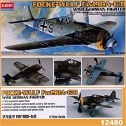 Focke-Wulf FW190 A-6/8 WWII German Fighter - Academy - 1/72