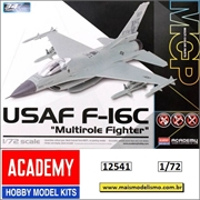 USAF F-16C Multirole Fighter - Snap MCP Academy - 1/72