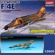 F- 4E Phantom II U.S. Air Force - Academy - 1/144