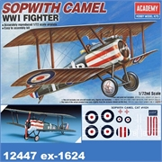 Sopwith CAMEL WW I Fighter - Academy - 1/72