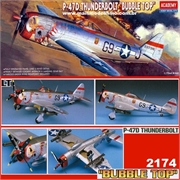 P-47D THUNDERBOLT Bubble Top - Academy - 1/72