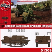 BREN Gun Carrier and 6PDR Anti-Tank Gun - Airfix - 1/76