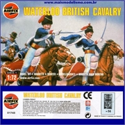 Napoleonic Wars - WATERLOO BRITISH CAVALRY - Airfix - 1/72