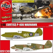 Curtiss P-40B Warhawk - Airfix - 1/48