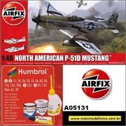 North American P-51D Mustang - Airfix - 1/48