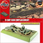 D-Day Gun Replacement - Airfix - 1/72