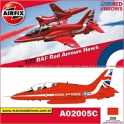 BAe RED ARROWS HAWK RAF 2015 - Airfix - 1/72