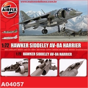BAe HAWKER Siddeley AV-8A Harrier - Airfix - 1/72