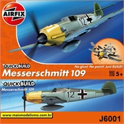 Messerschmitt BF109E - QUICK BUILD Airfix