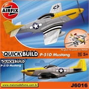 P-51D Mustang - QUICK BUILD Airfix