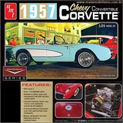 1957 - Chevy CORVETTE Convertible - AMT - 1/25