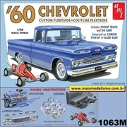 1960 - Chevrolet Fleetside Pickup - AMT - 1/25