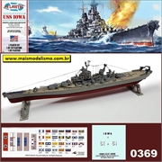 USS IOWA BB-61 - Atlantis - 1/535