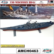 USS WISCONSIN BB-64 - Atlantis - 1/535