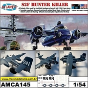 Grumman S2F Hunter Killer - Atlantis - 1/54