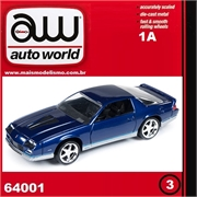 1984 - Chevy CAMARO Z28 Azul - Auto World - 1/64